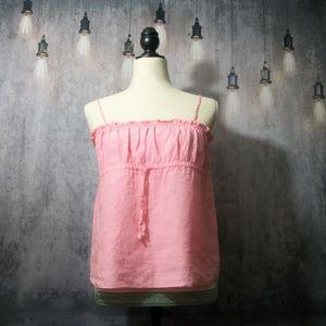 Juicy Couture Pink Tank Top Size Medium